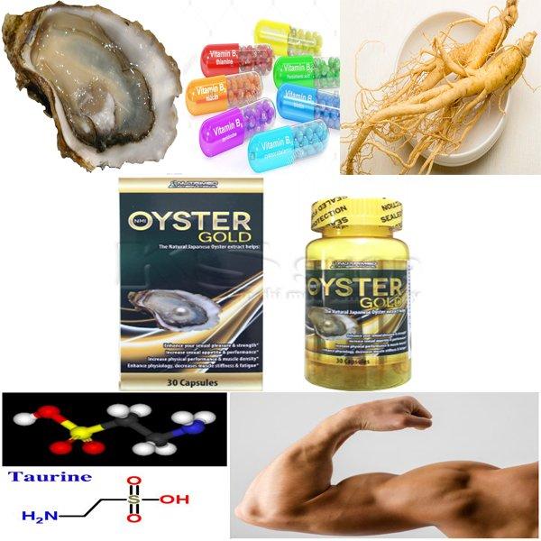 Tác dụng của tinh hàu biển Oyster Gold
