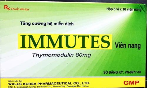 Thuốc Immutes 80mg giá bao nhiêu, thuốc Immutes mua ở đâu, giá thuốc Thymomodulin 80mg mua ở đâu