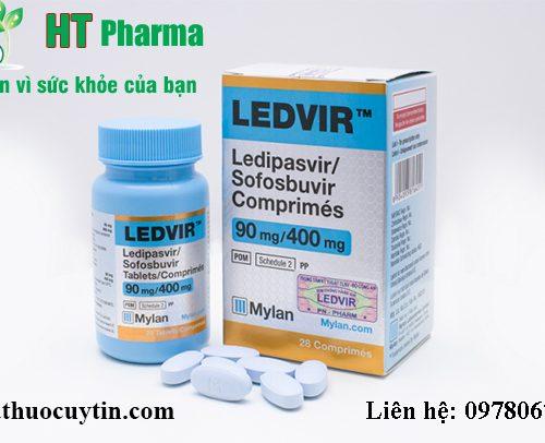 Giá thuốc Ledvir bán ở đâu mua giá bao nhiêu chính hãng