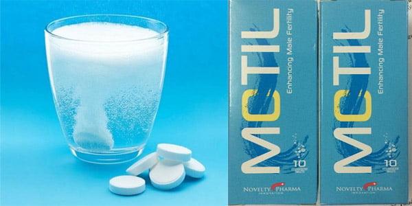 Cách sử dụng thuốc Motil sủi