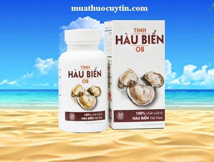 Giá thuốc tinh hàu biển OB bán ở đâu Hà NỘi, TPHCM