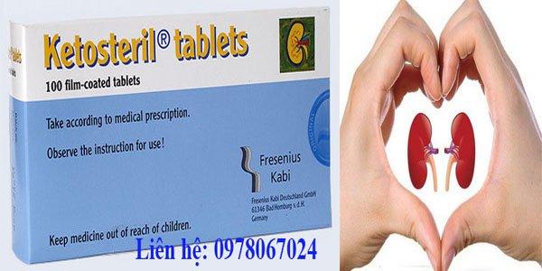 Công dụng của thuốc Ketosteril 600mg
