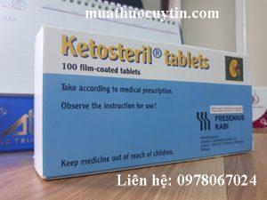 Thuốc ketosteril 600mg giá bao nhiêu mua ở đâu chính hãng