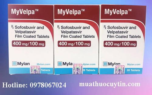 Giá thuốc Myvelpa bán ở đâu giá bao nhiêu chính hãng