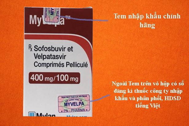 Thuốc Myvelpa giá bao nhiêu chính hãng mua ở đâu Hà Nội TPHCM