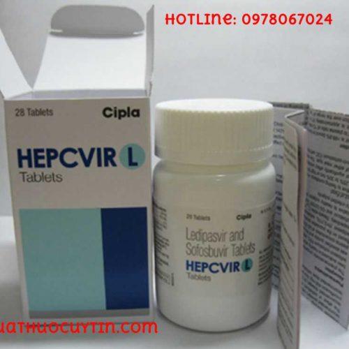 Thuốc Hepcvir L giá bao nhiêu thuốc Hepcvir L bán ở đâu Hà Nội TPHCM