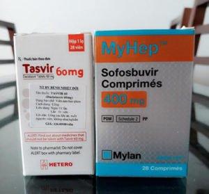 Thuốc Myhep 400mg và Tasvir