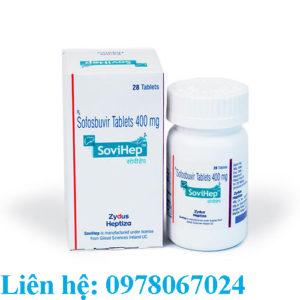 Thuốc Sovihep 400mg và Dacihep