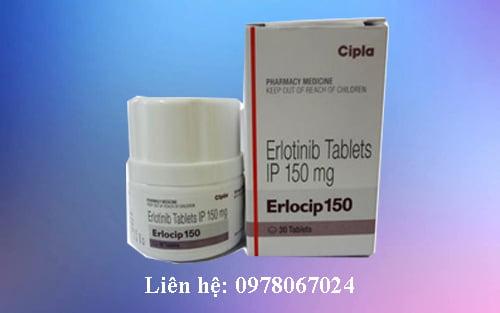Bán giá thuốc Erlocip 150mg Erlotinib mua ở đâu giá bao nhiêu