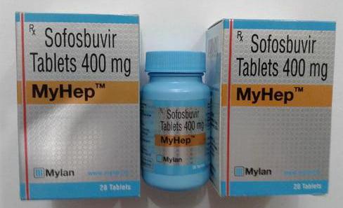Thuốc Myhep 400mg và Dacihep