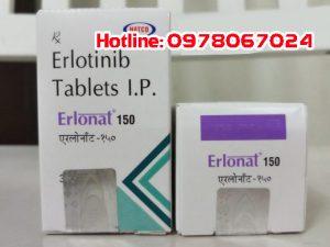 Thuốc erlonat 150mg giá bao nhiêu mua ở đâu chính hãng. Thuốc Erloant được sử dụng trong điều trị ung thư phổi không tế bào nhỏ