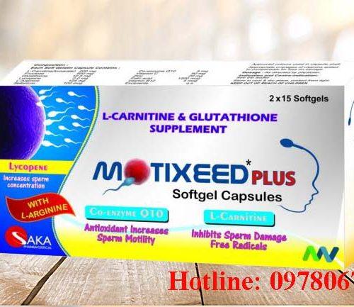 Giá thuốc Motixeed plus mua ở đâu thuốc Motixeed plus giá bao nhiêu