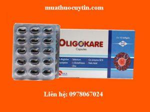 Giá thuốc Oligokare bán ở đâu