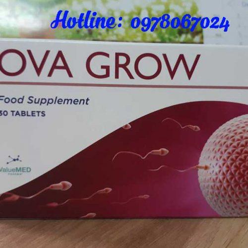 Thuốc Ova grow giá bao nhiêu chính hãng, thuốc Ova grow mua ở đâu