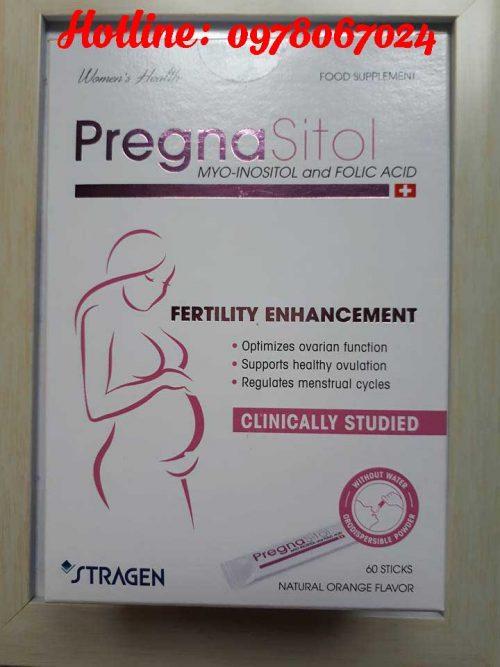 Thuốc pregnasitol chính hãng mua ở đâu, thuốc pregansitol có tác dụng gì, thuốc pregnasitol có tốt không