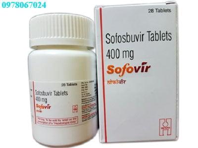Thuốc Sofovir 400mg giá bao nhiêu thuốc Sofovir bán ở đâu