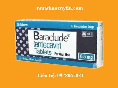 Giá thuốc Baraclude 0.5mg bán ở đâu, mua thuốc Baraclude giá bao nhiêu