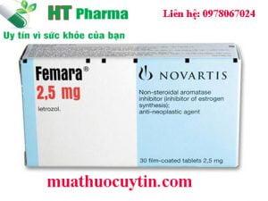 thuốc Femara 2.5mg bán ở đâu, thuốc Femara 2.5mg giá bao nhiêu