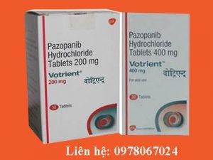 Thuốc Votrient giá bao nhiêu, thuốc Votrient mua ở đâu