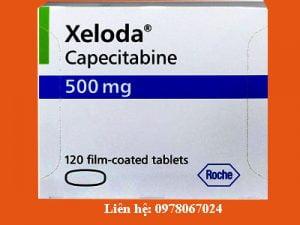 Giá thuốc Xeloda 500mg bán ở đâu giá bao nhiêu chính hãng