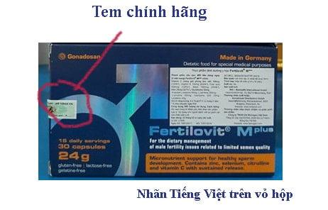 Cách nhận biết Thuốc Fertilovit Mplus mua ở đâu chính hãng, thuốc Fertilovit Mplus giá bao nhiêu