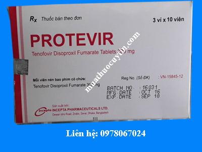 Giá thuốc protevir 300mg bán ở đâu chính hãng