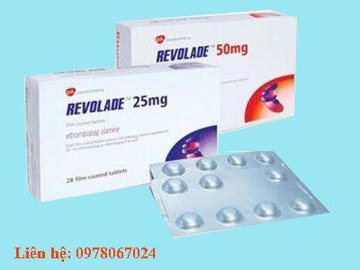 Giá thuốc Revolade 25mg giá bao nhiêu mua ở đâu Hà Nội, TPHCM
