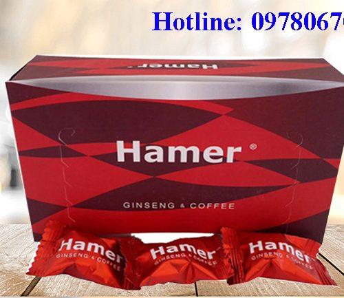 Giá kẹo sâm Hamer bán ở đâu, kẹo sâm hamer giá bao nhiêu, mua kẹo Hamer ở đâu hà Nội, Cần thơ, TPHCM