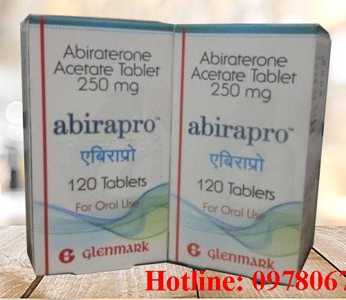 Giá thuốc Abirapro 250mg mua ở đâu bán giá bao nhiêu Hà Nội TPHCM