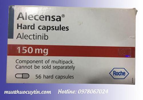 Giá thuốc Alecensa 150mg alectinib mua ở đâu bán giá bao nhiêu Hà Nội TPHCM