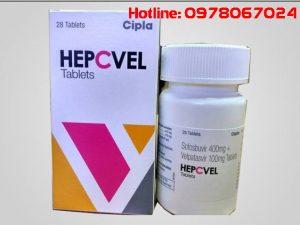 Giá thuốc Hepcvel mua ở đâu bán giá bao nhiêu