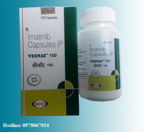 Giá thuốc Veenat 100mg Imatinib mua ở đâu bán giá bao nhiêu