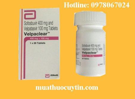 Giá thuốc Velpaclear mua ở đâu, thuốc Velpaclear bán ở đâu, thuốc Velpaclear giá bao nhiêu