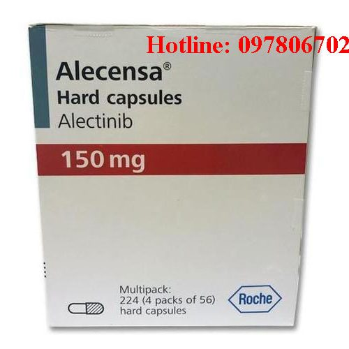 Giá thuốc Alecensa 150mg Alectinib