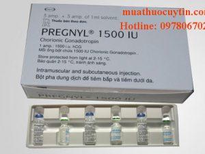 Giá thuốc Pregnyl 1500IU 5000IU mua ở đâu bán gia bao nhiêu