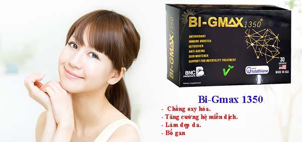 Tác dụng của thuốc Bi Gmax chống lão hóa làm đẹp da