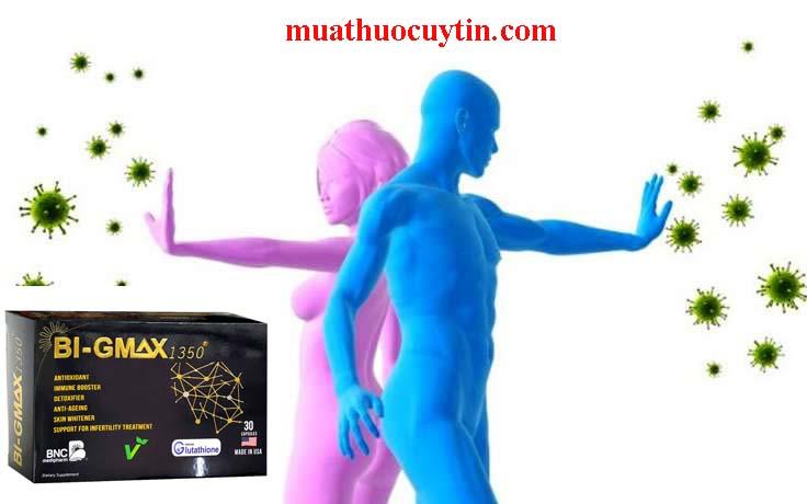 Thuốc Bi Gmax bảo vệ cơ thể tăng cường miễn dịch