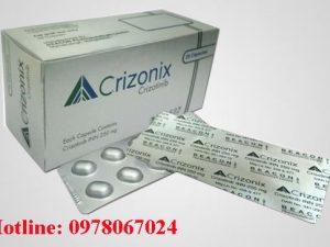 Thuốc Crizonix 250mg Crizotinib giá bao nhiêu