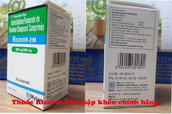Thuốc Ricovir em chính hãng