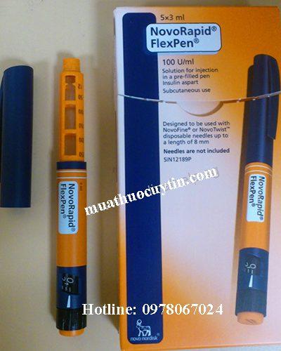 Giá bút tiêm Novorapid Flexpen 100UI/ml