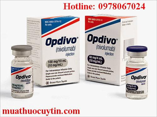 Giá thuốc Opdivo 100mg/10ml 40mg/4ml bán ở đâu