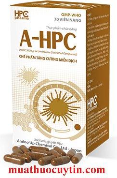 Thuốc AHPC hỗ trợ điều trị sùi mào gà