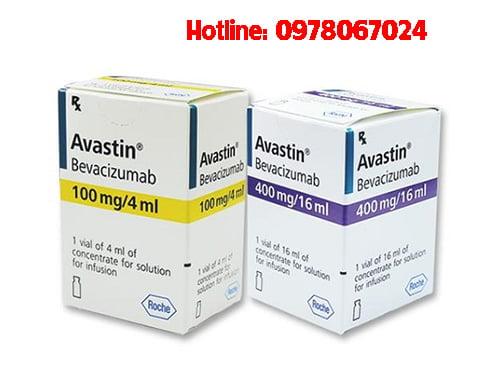 Thuốc Avastin 100mg/4ml giá bao nhiêu, thuốc Avastin mua ở đâu