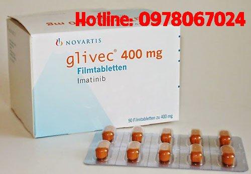 Thuốc Glivec 400mg giá bao nhiêu, thuốc Glivec bán ở đâu, mua thuốc glivec ở đâu