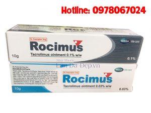 Thuốc Rocimus 0.03 mua ở đâu, thuốc rocimus 0.1 giá bao nhiêu