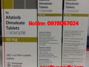 Thuốc Xovoltib 40mg afatinib giá bao nhiêu, thuốc xovoltib 40mg mua ở đâu