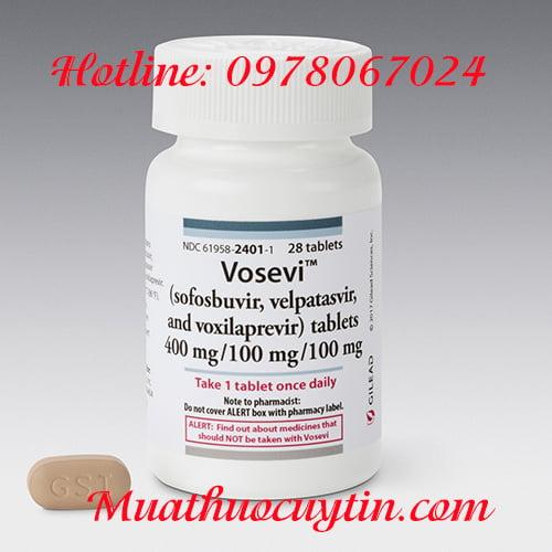 Thuốc Vosevi giá bao nhiêu, thuốc Vosevi mua ở đâu