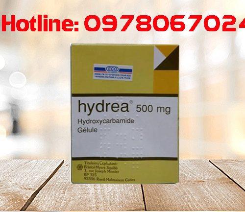 Thuốc Hydrea 500mg giá bao nhiêu, thuốc Hydrea 500mg mua ở đâu