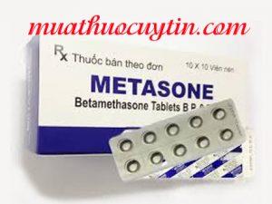thuốc Metasone mua ở đâu, thuốc Metasone 0,5mg giá bao nhiêu