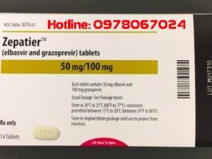 Thuốc Zepatier giá bao nhiêu, thuốc Zepatier mua ở đâu